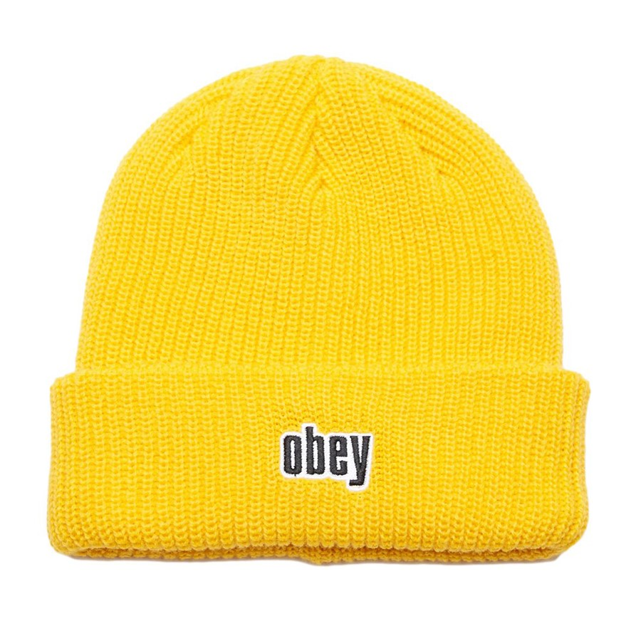 [오베이]JUNGLE BEANIE - DUSTY YELLOW 비니