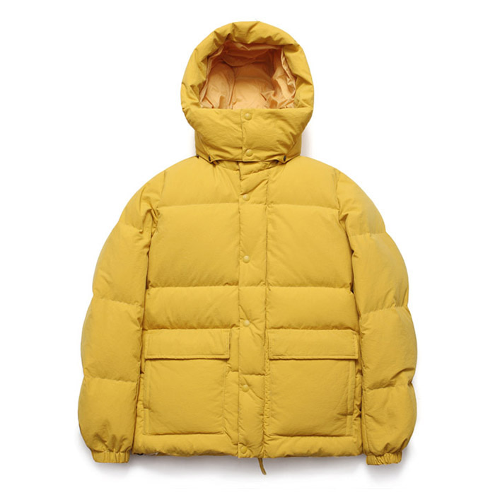 [라퍼지스토어] Duck Down Half Parka_Primrose Yellow