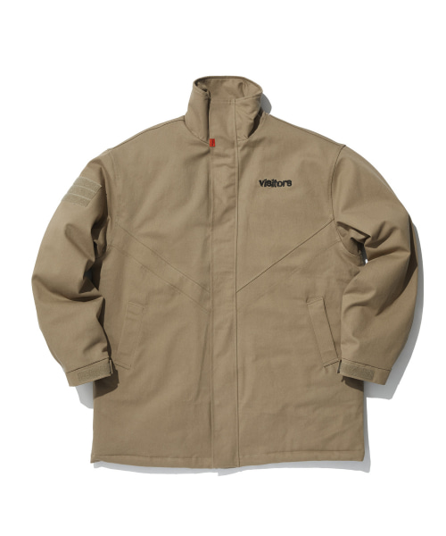 [오베르] TOME.5 VISITORS BEIGE FIELD JACKET