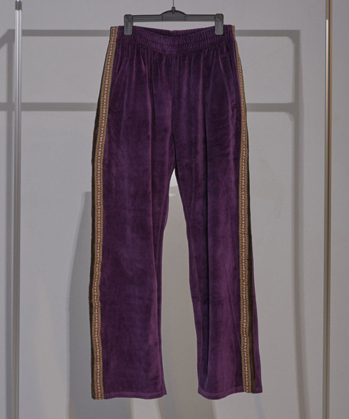 [이노반트]velours trackpants (purple)