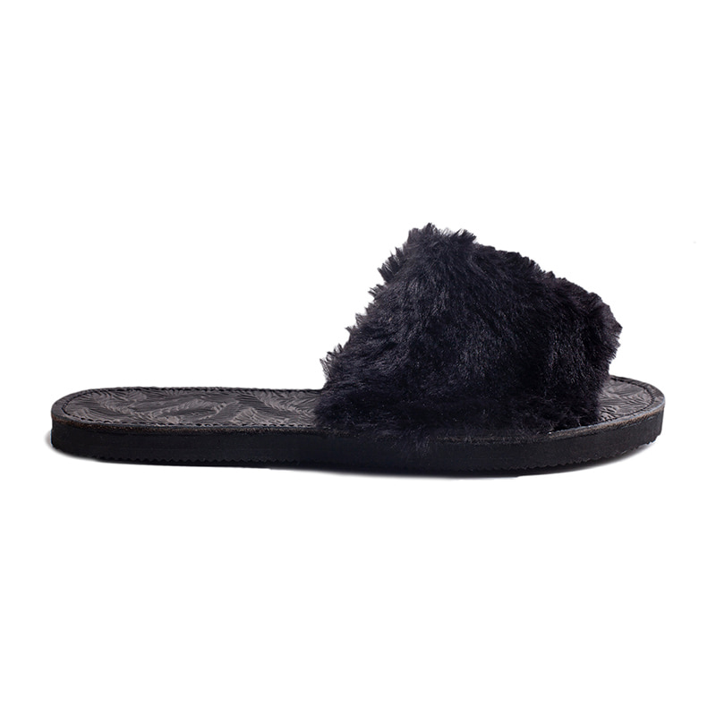 [에이징CCC] YASE SHOES 'COZY'SANDAL BLACK