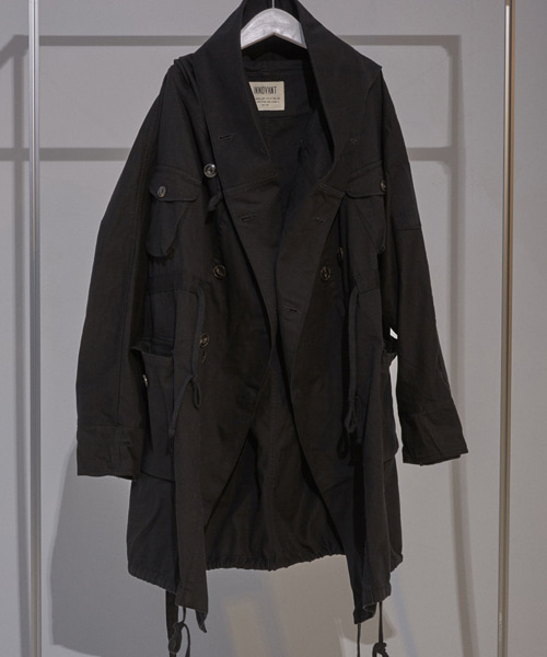 [이노반트]019 robe field jacket (black)