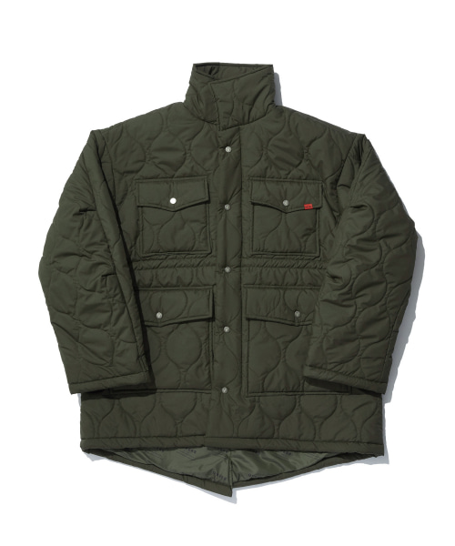 [오베르]TOME.5 QUILTING KHAKI FIELD JACKET