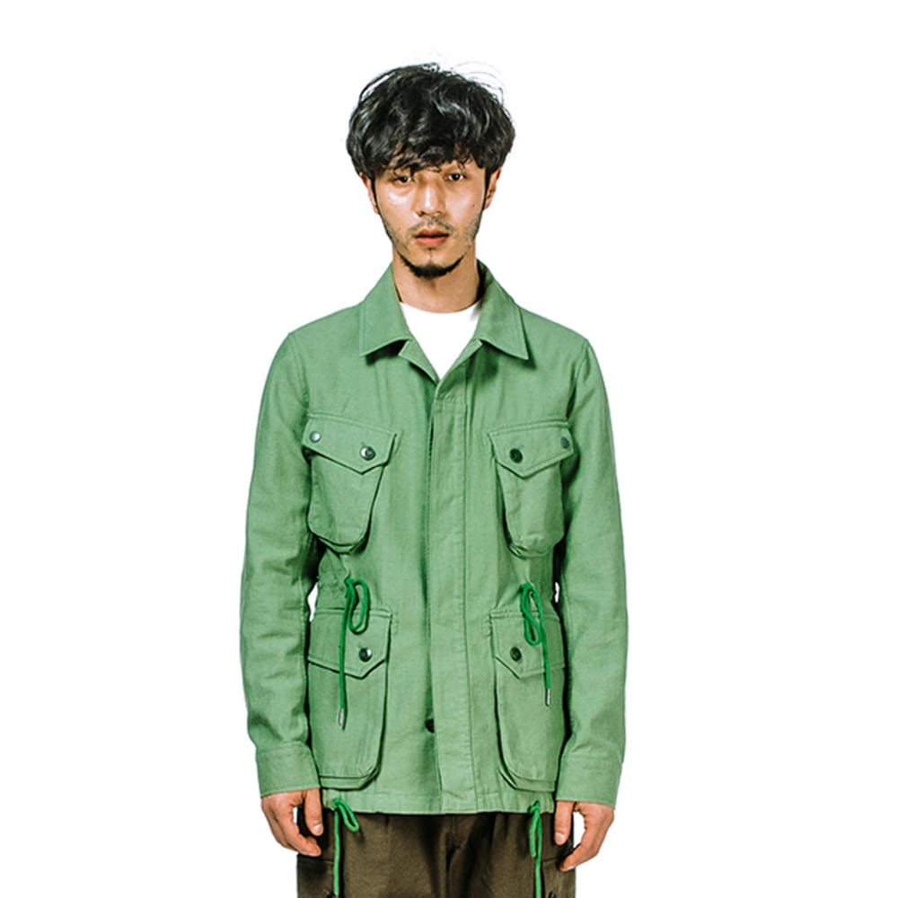 [에스파이] COTTON P.IELD JACKET (GREEN)