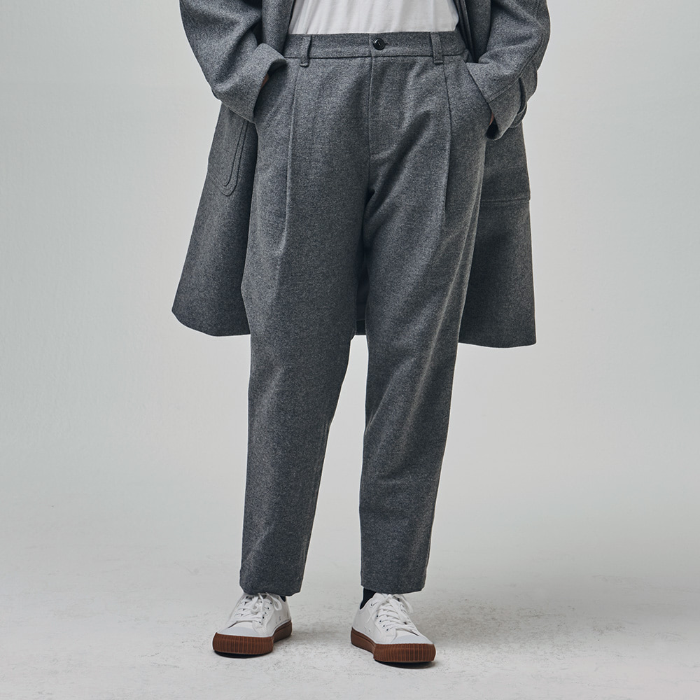 [에스파이] Invisible Relax Pants (Gray)