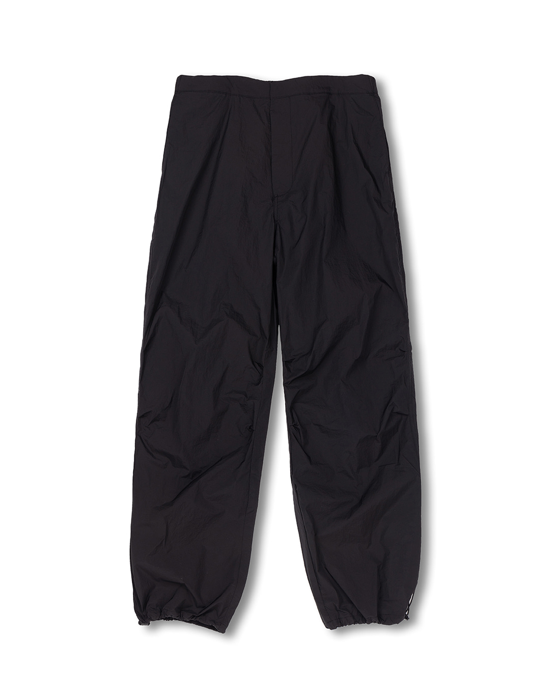 [뉴트럴] Black non-painted nylon pants