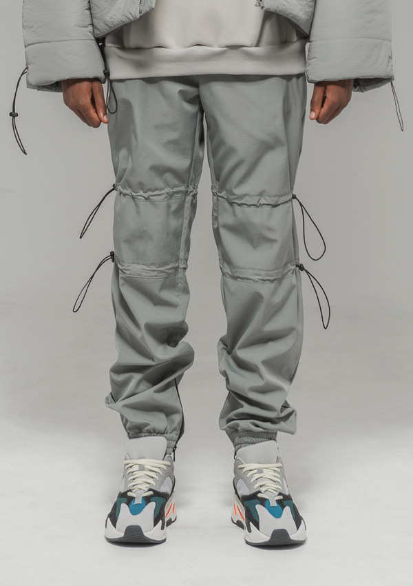 [드네이지] Hold Out Nylon Fleece Pants GRAY