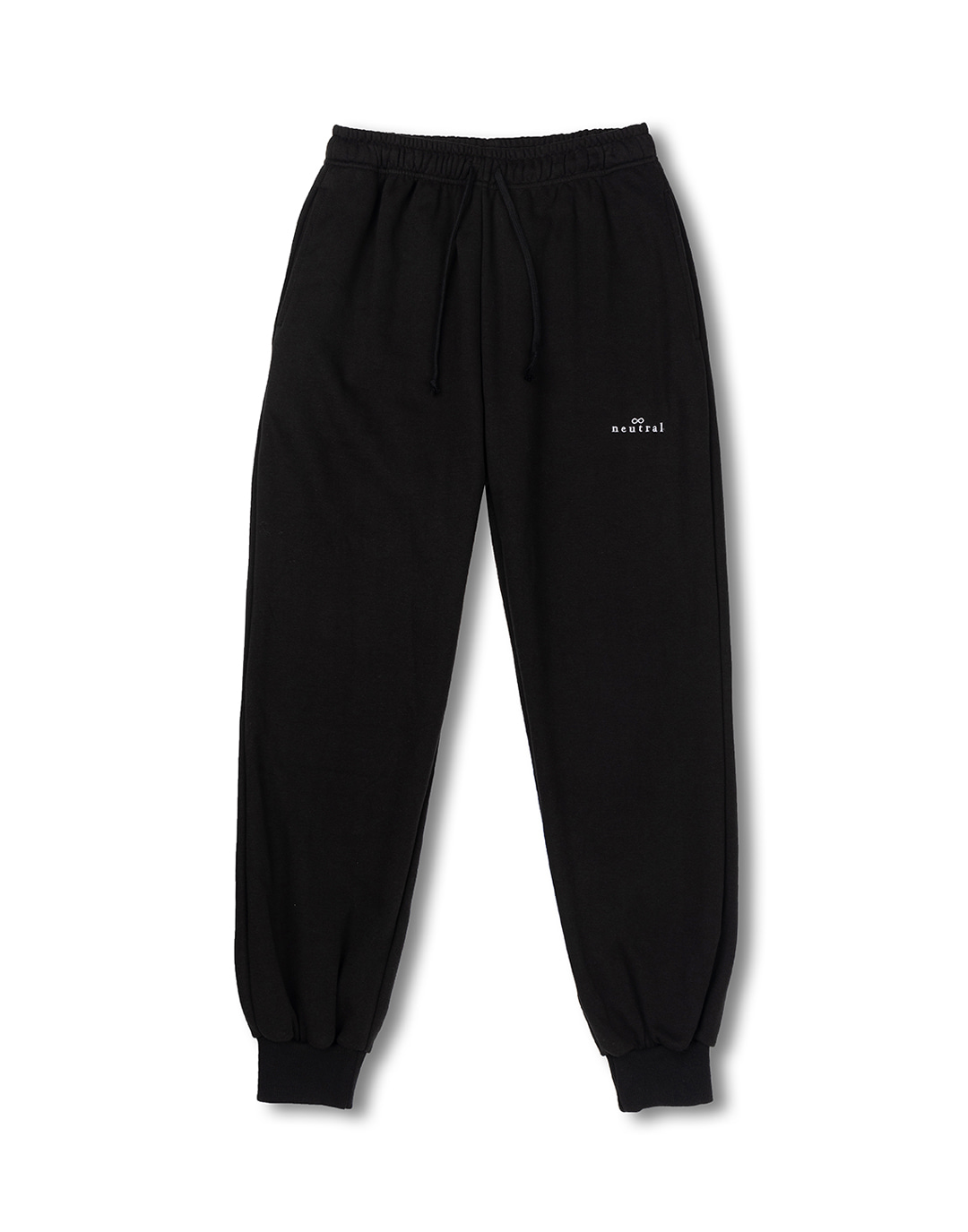 [뉴트럴] Black jogger sweatpants