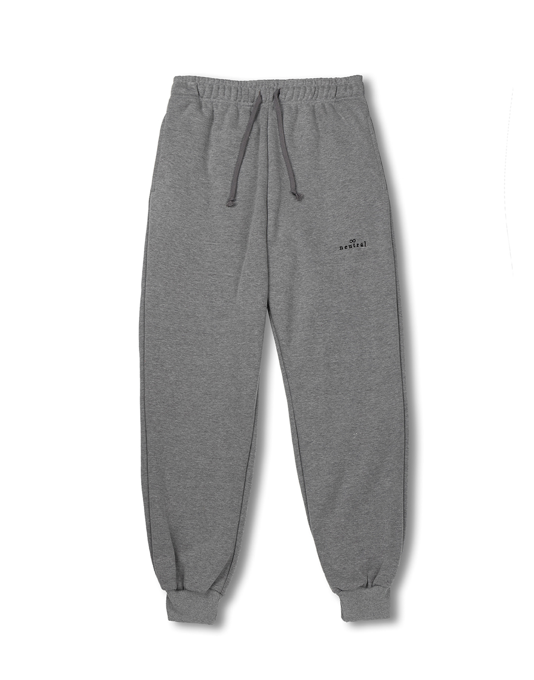 [뉴트럴] Gray jogger sweatpants