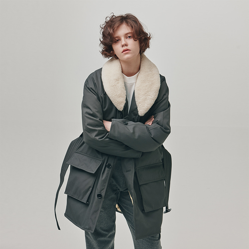 [에스파이] Mackinaw Down Parka Vol_2 (GRAY)
