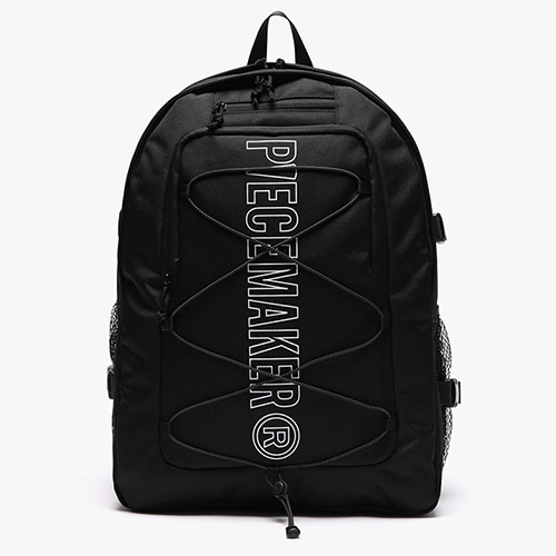 [피스메이커]STRING SQUARE BACKPACK (BLACK)_3M SCOTCH LIGHT