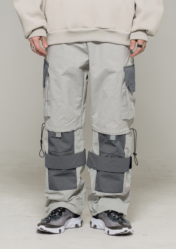 [드네이지] Utility Pants ver 2.0 Light Gray
