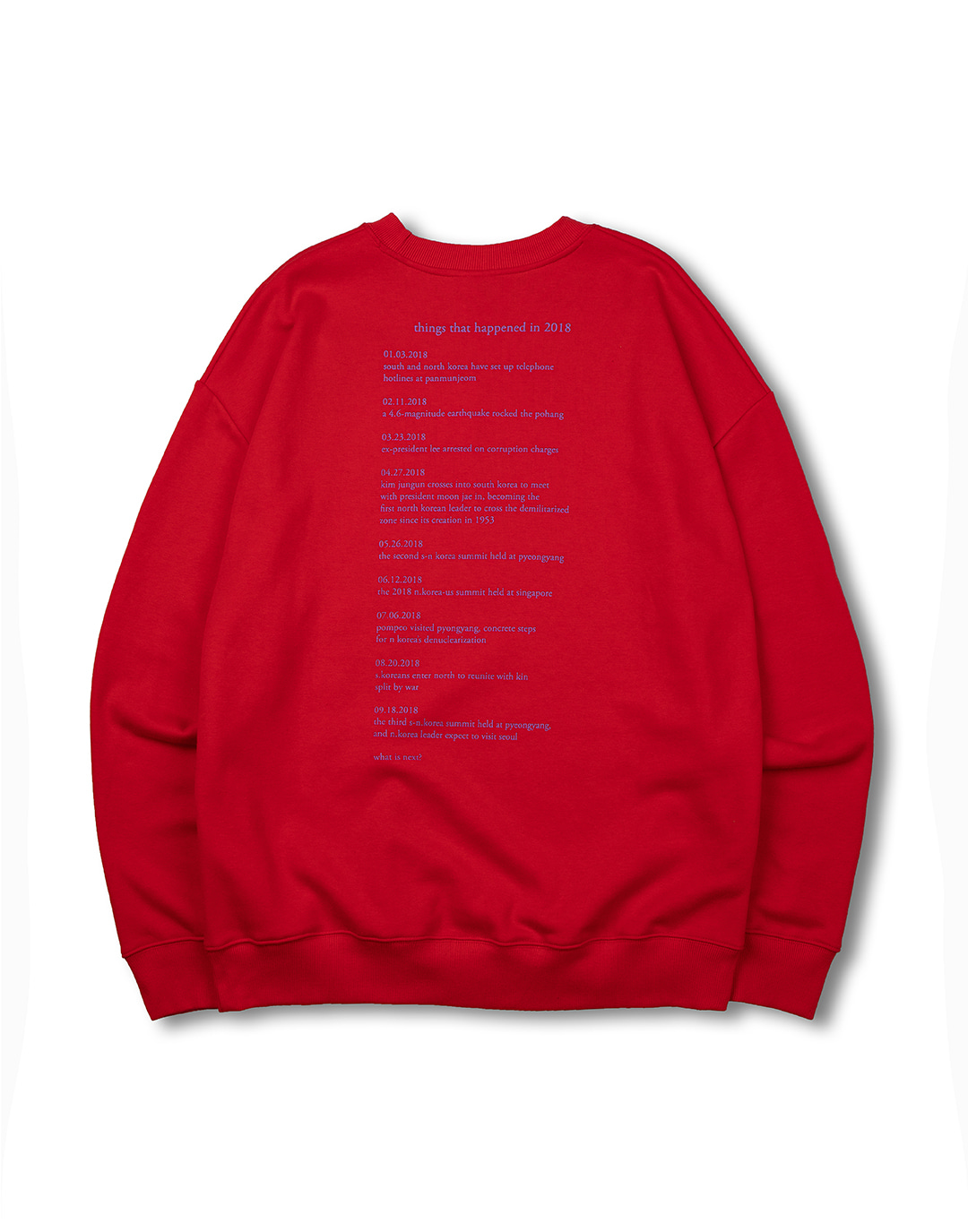 [뉴트럴] 18 happening sweatshirts