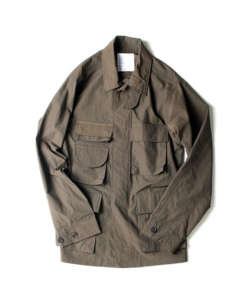 [아워셀브스] BACK POCKET B.D.U JACKET (OL)