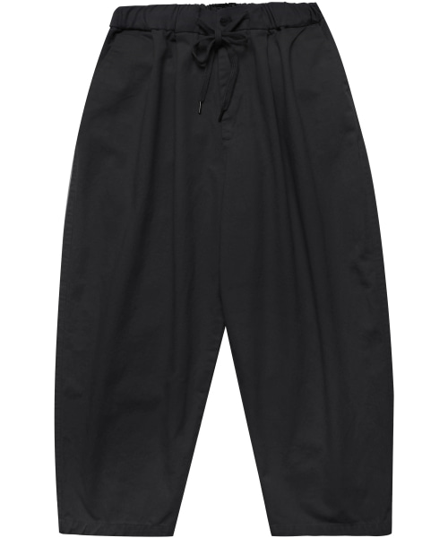 [모디파이드] M#1700 daily banding wide pants (black)