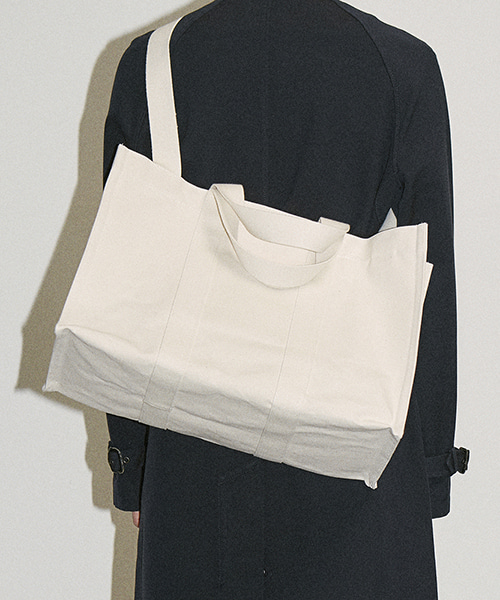 [하 아카이브] 4WAY COATED HEAVY CANVAS BAG