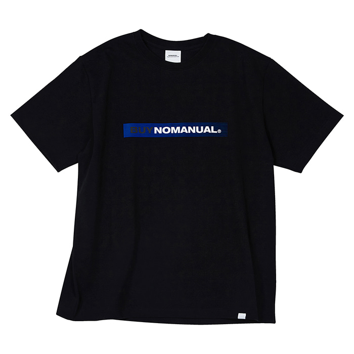 [노매뉴얼] BUY NOMANUAL T-SHIRT - BLACK