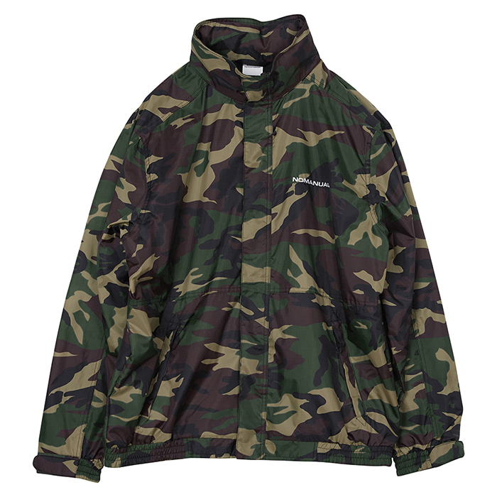 [노매뉴얼] NM WIND BREAKER JACKET - CAMO