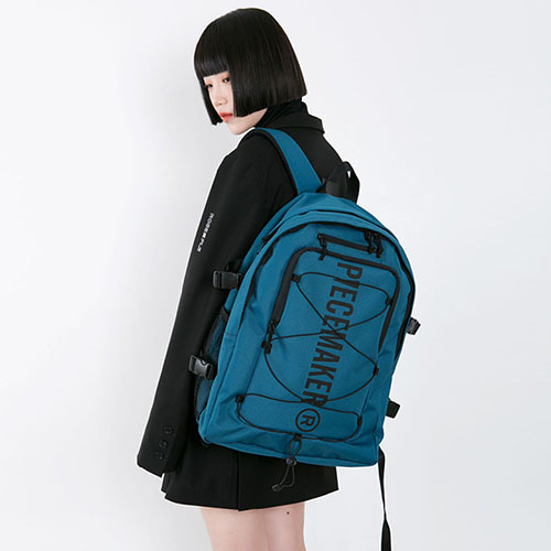 [피스메이커]STRING SQUARE BACKPACK (GREEN)