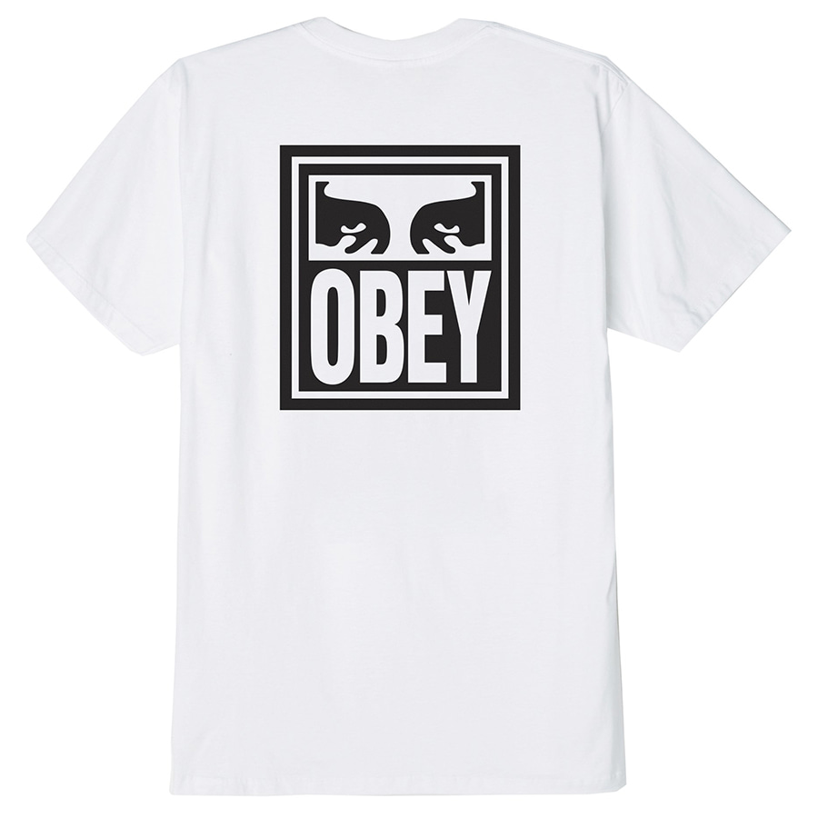 [오베이]OBEY EYES ICON - WHITE 반팔