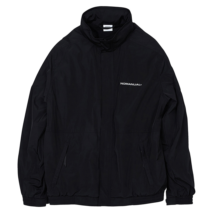 [노매뉴얼] NM WIND BREAKER JACKET - BLACK