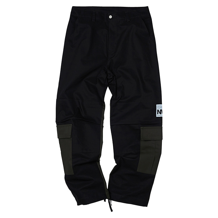 [노매뉴얼] CB CARGO PANTS - BLACK