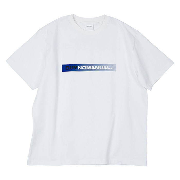 [노매뉴얼] BUY NOMANUAL T-SHIRT - WHITE