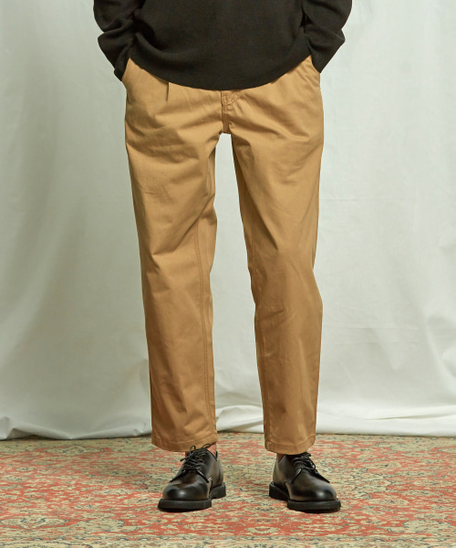[프리즘웍스] HAWORTH ONE TUCK PANTS _ BEIGE
