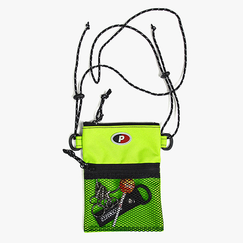 [피스메이커]SACOCHE BAG (NEON LIME)