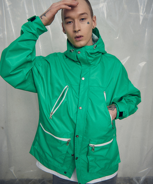[오베르] 19SS WATERTIGHT GREEN WINDCHEATER