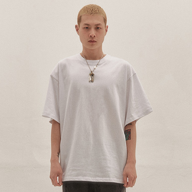 [이노반트] basic over t shirts v2 (white)