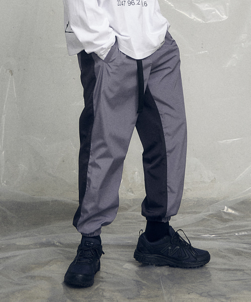 [오베르] 19SS HALF AND HALF JOGGER PANTS