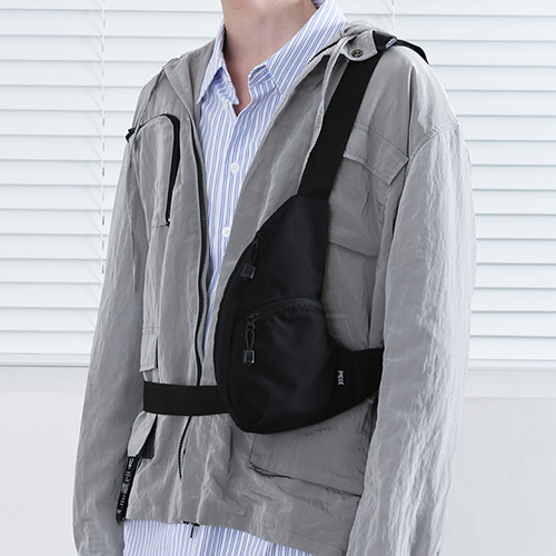 [피스메이커] THE SHADOW TECH SLING BAG (BLACK)