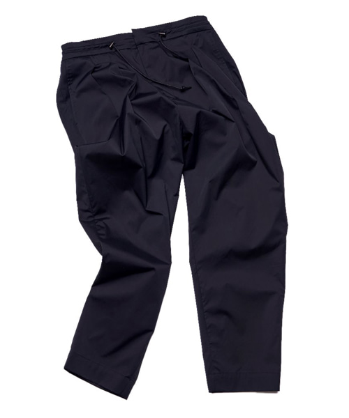 [뮤트커먼센스]Two tuck trousers (Black)