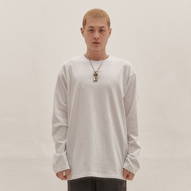 [이노반트] basic long sleeve v2 (white)