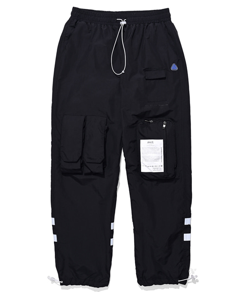 [더블에이씨] 9-POCKET SMOCK PANTS (black)