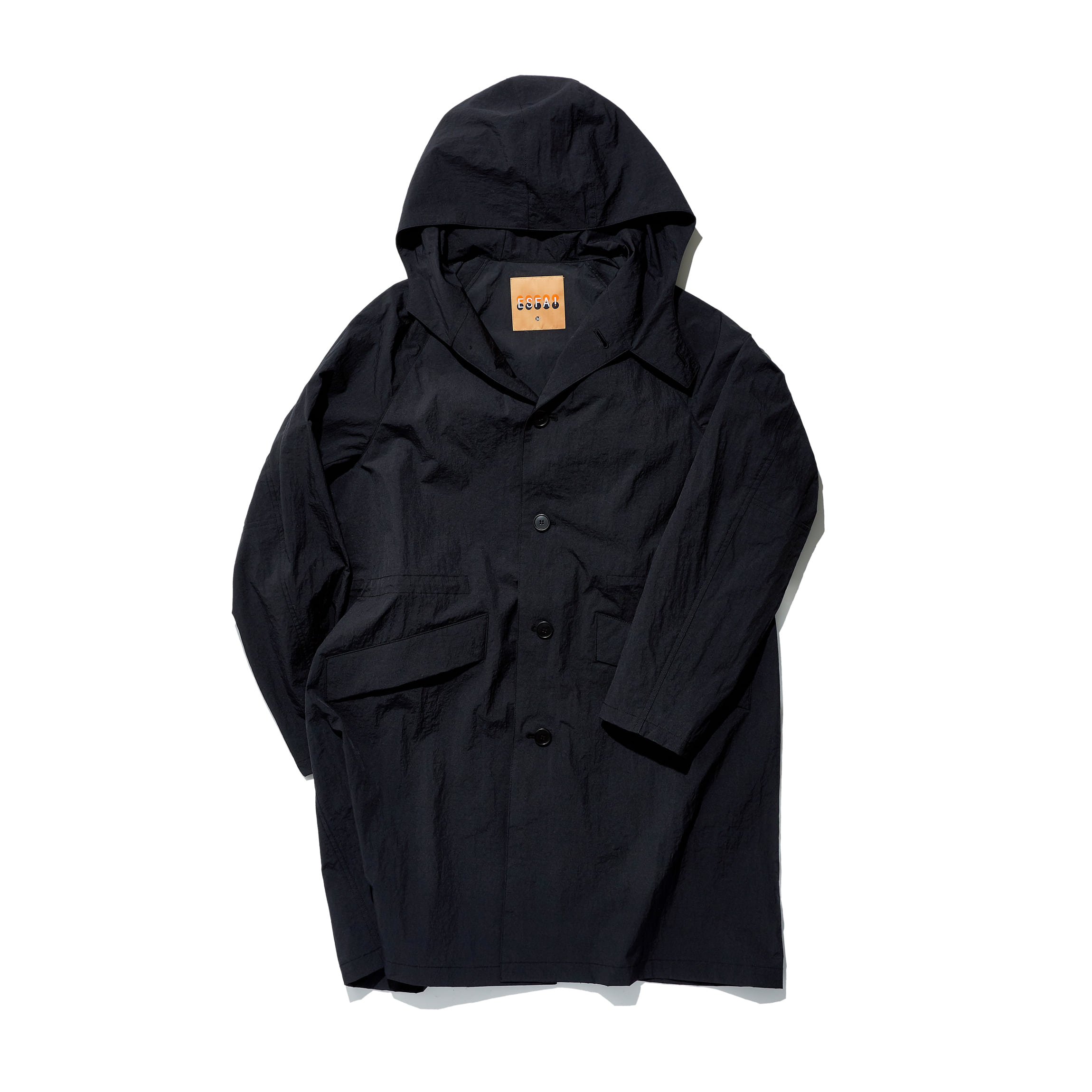 [에스파이] Hylon OverCoat (Black)