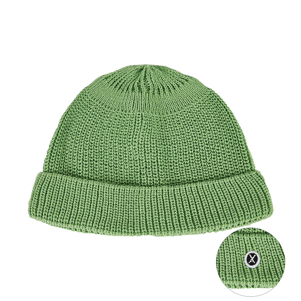 [바잘] Everyday wappen watch cap green