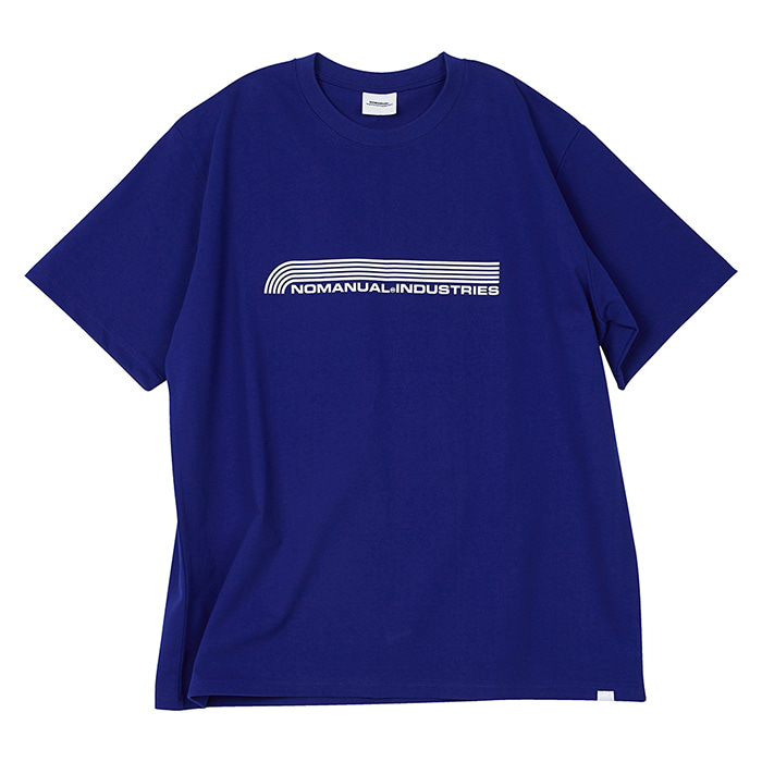 [노매뉴얼] NM INDUSTRIES T-SHIRT - BLUE