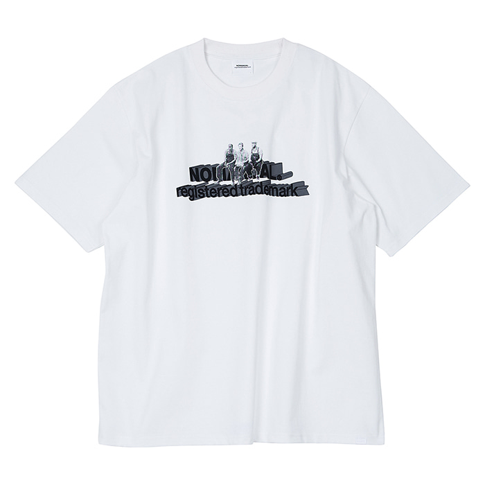 [노매뉴얼] WORKERS T-SHIRT - WHITE
