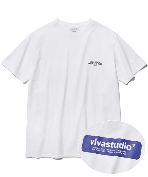 [비바스튜디오] BOX LOGO SHORT SLEEVE IS [WHITE] 결제창