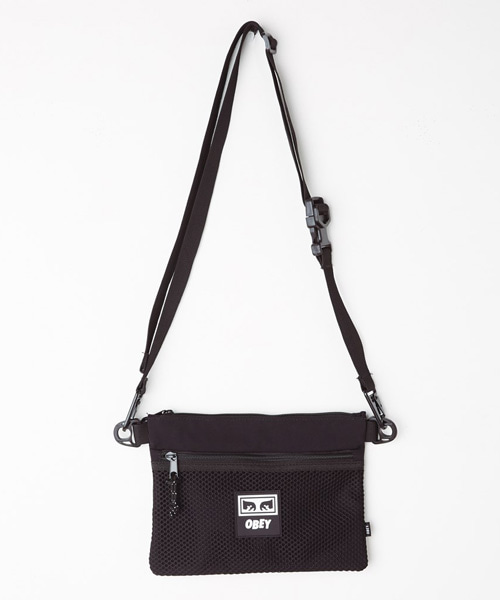 [오베이] CONDITIONS SIDE BAG - BLACK