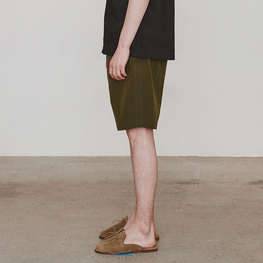 [에스파이] Nylonical Shorts (Khaki)