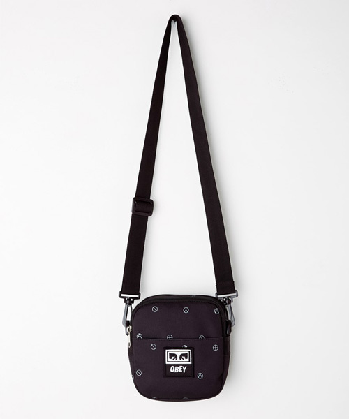 [오베이] DROP OUT TRAVELER BAG - SYMBOL BLACK MULTI