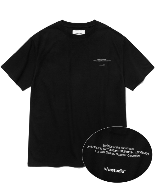 [비바스튜디오] NEW LOCATION SHORT SLEEVE IS [BLACK] 결제창
