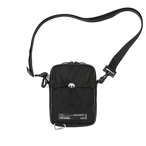 [알디브이제트] CORDURA® SIDE BAG BLACK