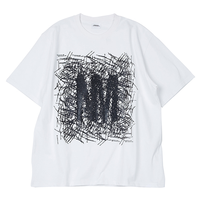 [노매뉴얼] W.N LOGO T-SHIRT - WHITE