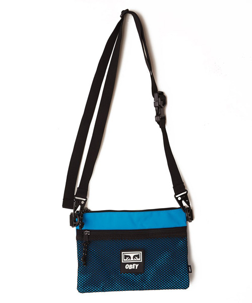 [오베이] CONDITIONS SIDE BAG - PURE TEAL