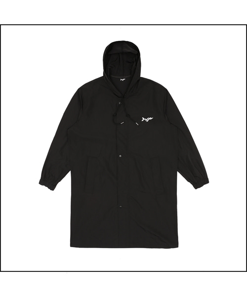 [I4P] 148 Long Hood Jacket Black