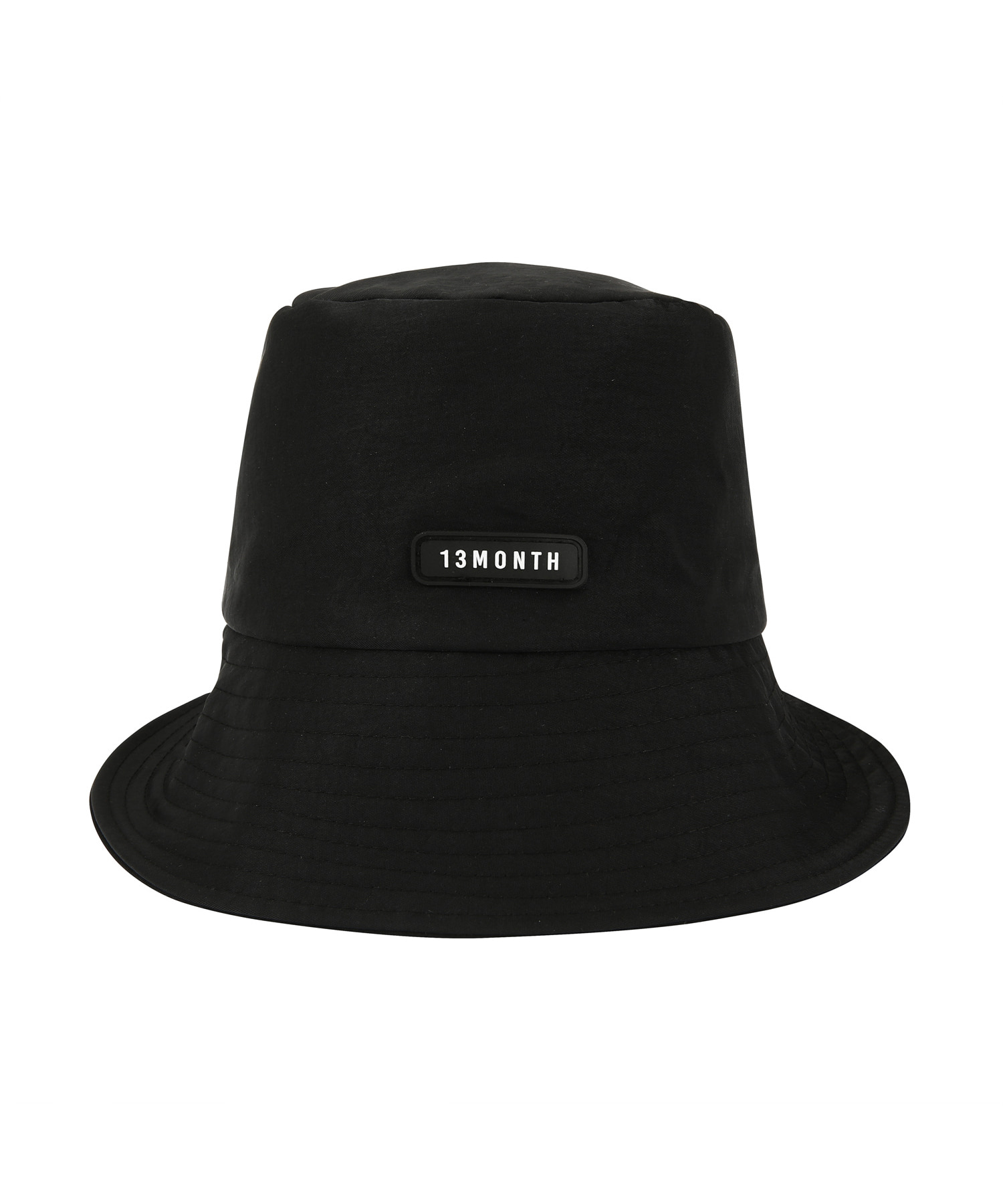 [써틴먼스] LOGO BUCKET HAT (BLACK)